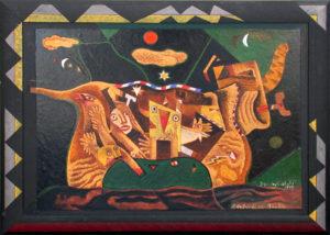 Gigi degli Abbati - Elefante di Troia