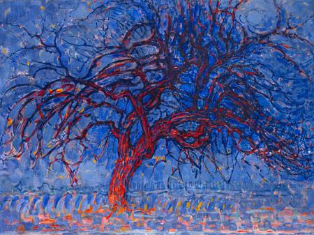PIET MONDRIAN - Evening Red Tree - 3MON3081
