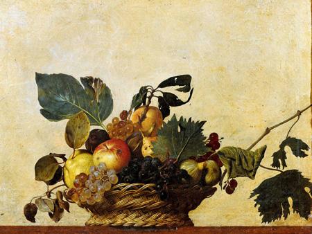 CARAVAGGIO - Canestra di frutta - 3AA1604