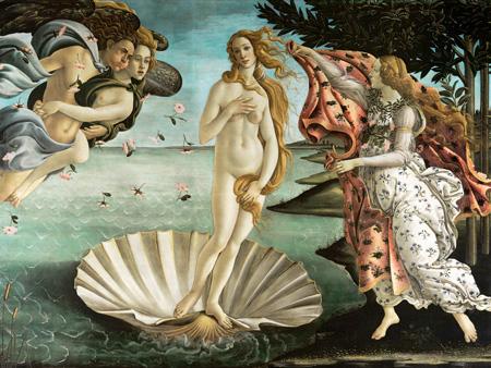SANDRO BOTTICELLI - La nascita di Venere - 3SB144